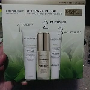 Bareminerals Skinsorials 3-part ritual kit